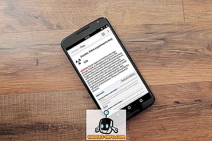 मोबाइल: एंड्रॉइड के लिए 7 कूल क्रोम फ्लैग आपको चेक करना चाहिए