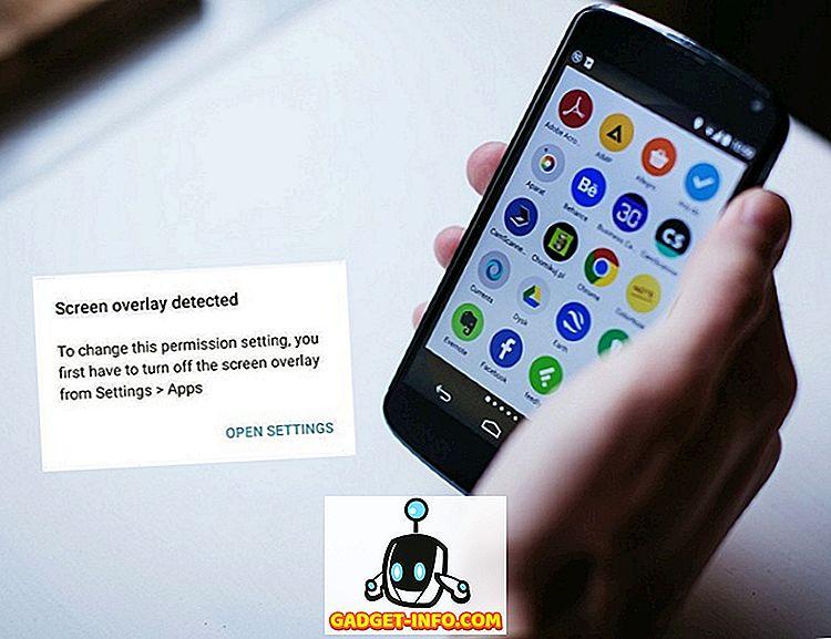 """mobiilne: Kuidas määrata """"Ekraani ülekatte tuvastamine"""" viga rakendustes Androidis"""
