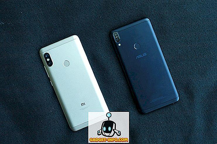 mobil - ZenFone Max Pro M1 vs Redmi Note 5 Pro: Hurtig sammenligning