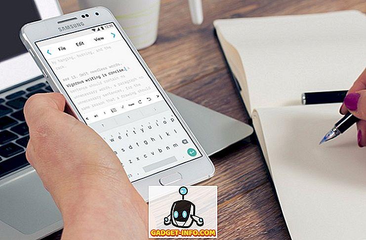 8 beste schrijf-apps voor Android die u kunt gebruiken