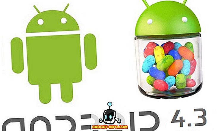 الروبوت Jelly Bean 4.3 تسربت الكاميرا ومعرض التطبيقات ميزات ومراجعة