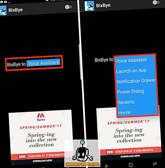 كيفية إعادة تعيين زر Bixby Galaxy S8 إلى أي تطبيق