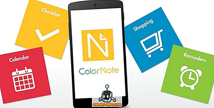 7 beste notatet tar apper for Android
