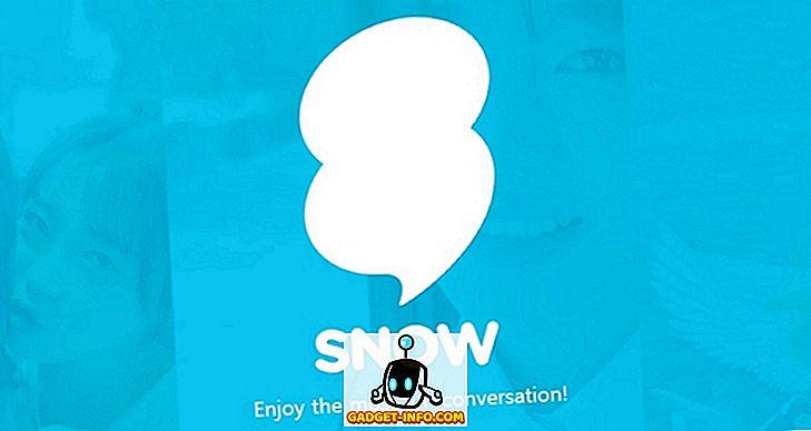So verwenden Sie Snow, die Snapchat Like App