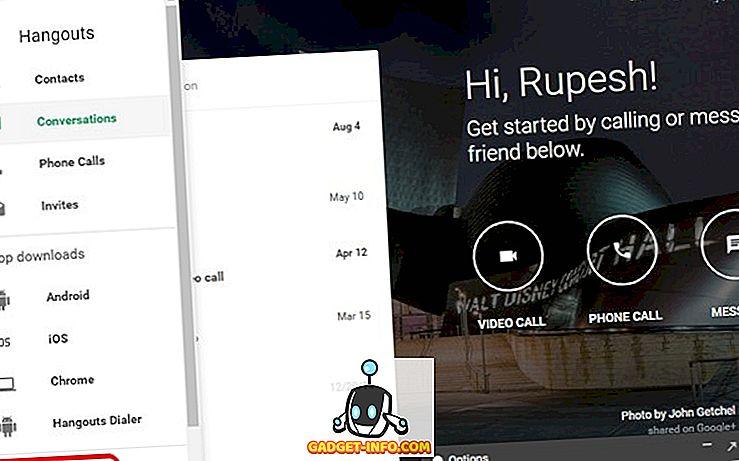 كيفية تعطيل جوجل Hangouts الماضي شوهد الميزة