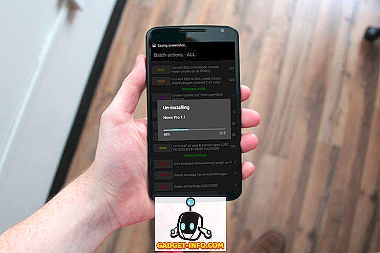 Sådan afinstalleres flere apps i Android på roede og ikke-røde enheder