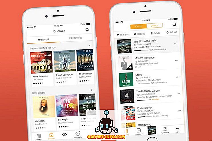 10 Najboljše Audiobook aplikacije za iPhone in Android