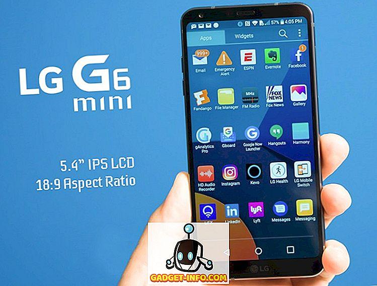 LG G6 Mini mit 5,4-Zoll-Display vor dem Start