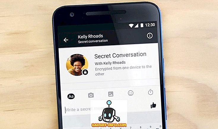 Ako používať tajné konverzácie Facebook Messenger
