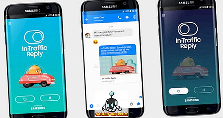 In-Traffic Reply App da Samsung enfrenta motoristas distraídos