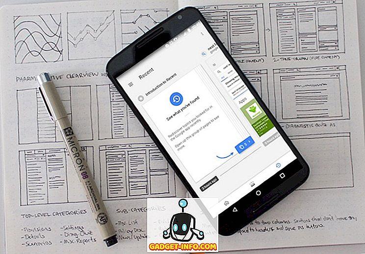 mobil - Sådan deaktiverer du seneste kort i Google Now eller Google App