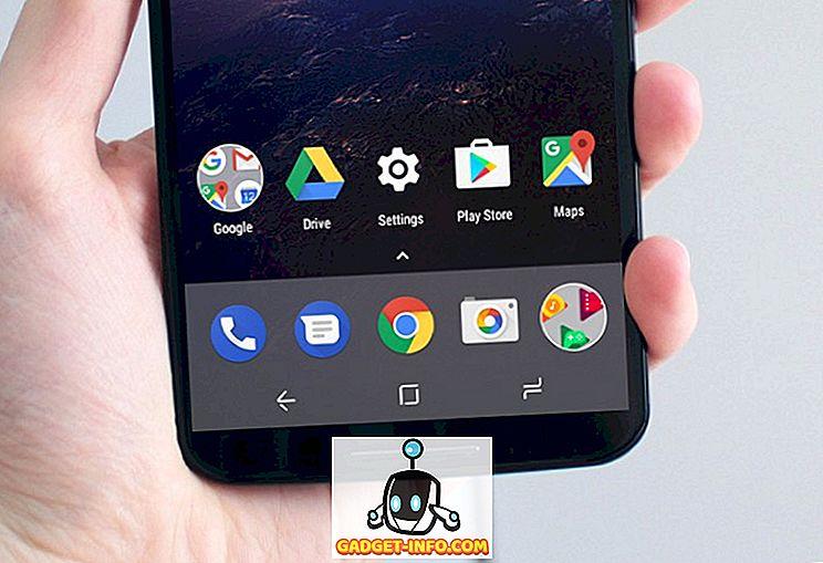 Подвижен - Как да зададете персонализирани икони в лентата за навигация в Android (без корен)