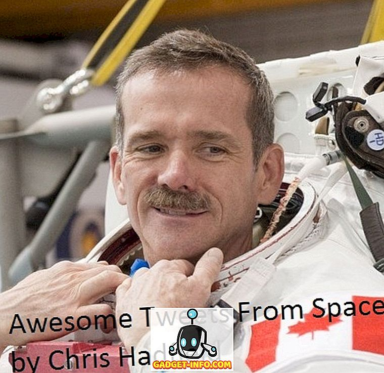 Amazing Tweets from Space de l'astronaute Chris Hadfield [Organisé]