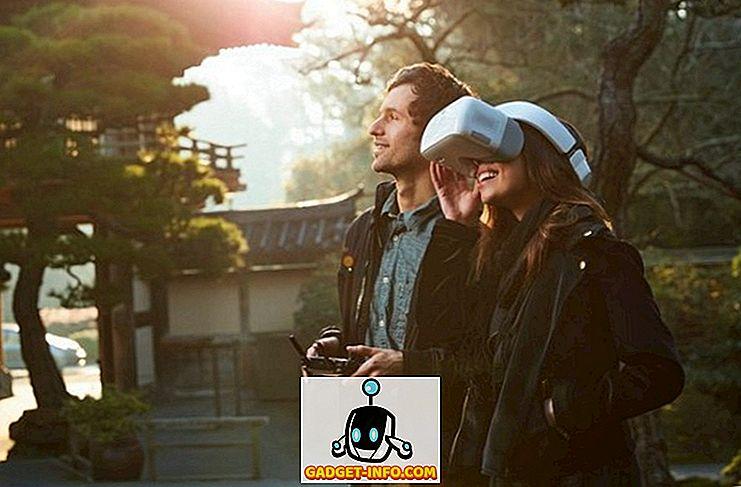DJI-beskyttelsesbriller Lad dig styre din drone med dit hoved