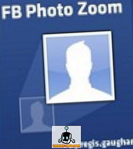 Photo Zoom pentru Facebook Extensie acum disponibilă pentru Firefox