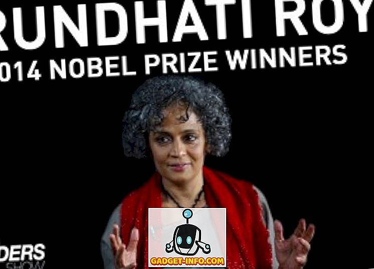 Arundhati Roy antar global politik bakom Nobels fredspris 2014 (Video)