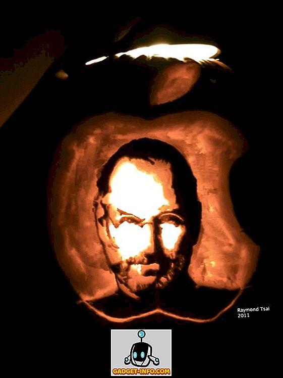 Hämmastav Steve töökohti Halloween Pumpkin Raymond Tsai poolt [Pic]