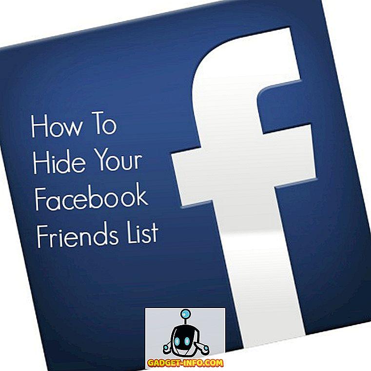 कैसे अपने फेसबुक फ्रेंड लिस्ट को हाईड करें