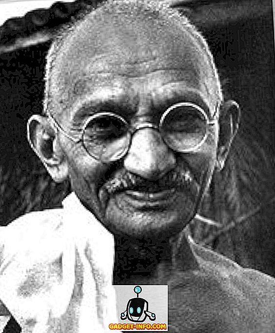 sociale media - Een betere manier om Mahatma Gandhi te herinneren