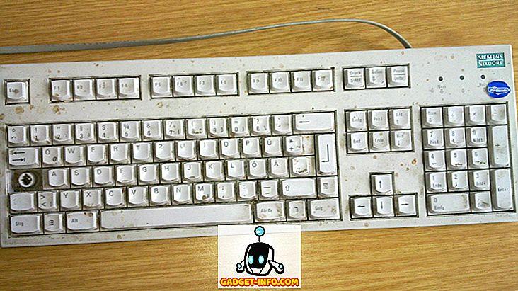 Dette er hvad du bør gøre med dit filthy tastatur