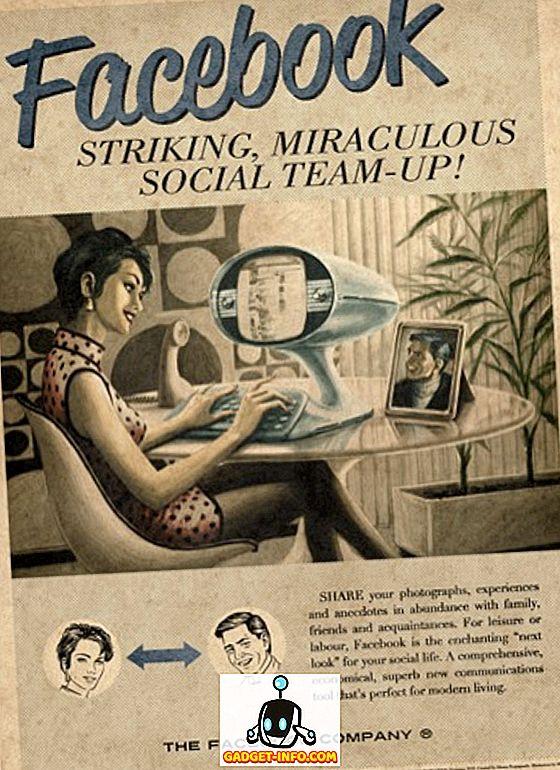 Social Media Vintage-Anzeigen (Bilder)