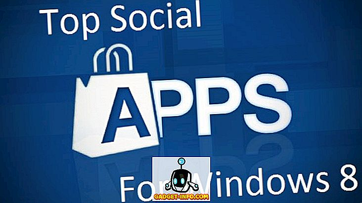 Top Social Apps für Windows 8