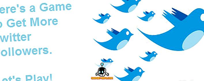 Како да добијете више сљедбеника на Твиттеру, играјте игру