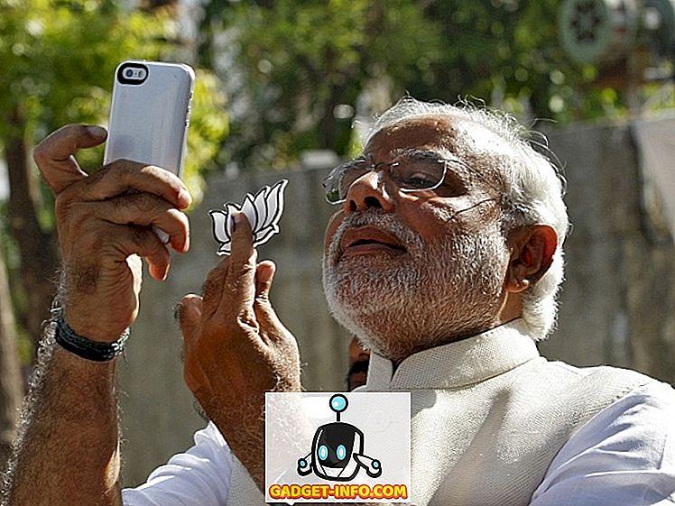 Der indische Premierminister Narendra Modi tritt Instagram bei