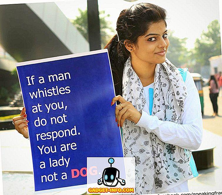 Disse piger har nogle stærke meddelelser til alle mænd i Indien