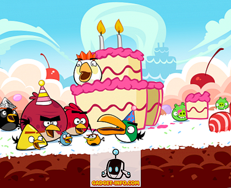 Happy BIRDday Angry Birds
