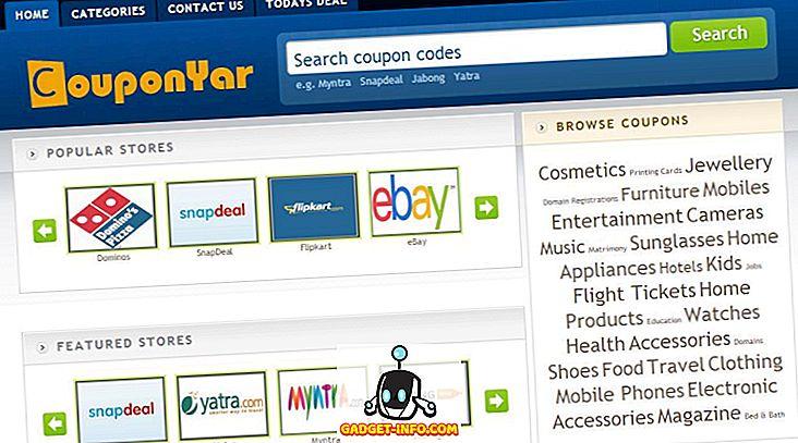 Couponyar.in - Лучшее место для купонов и предложений в 2013 году