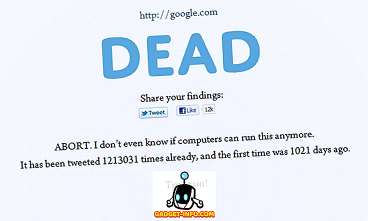Een website die beslist of links die u deelt, dood of gek zijn: IsItold.com