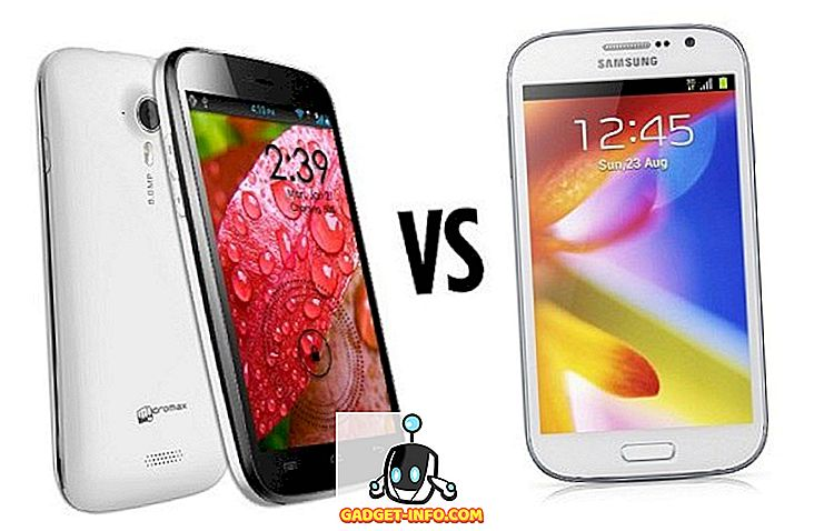 Samsung Galaxy Grand vs Micromax A116 Toile HD
