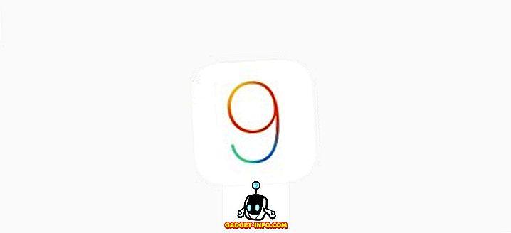 iOS 9 vs iOS 8: gedetailleerde vergelijking en nieuwe functies