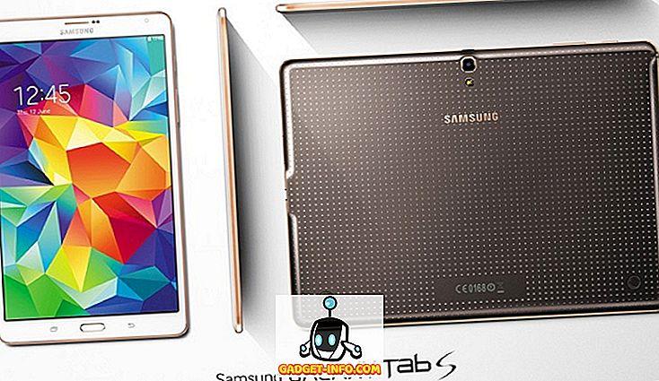 Samsung Galaxy Tab S 10.5 og 8.4 er de nyeste high-end Samsung tabletter