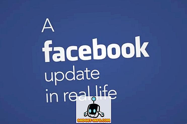Technik: So würden Facebook-Updates im wirklichen Leben aussehen (Video)