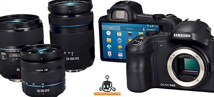 tech - Características do Samsung Galaxy NX, preço e data de lançamento (câmera)