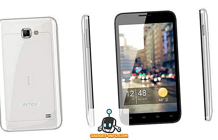 tech - Intex Aqua i-5 Budget Quad-core Android Smartphone Funktioner, pris og startdato