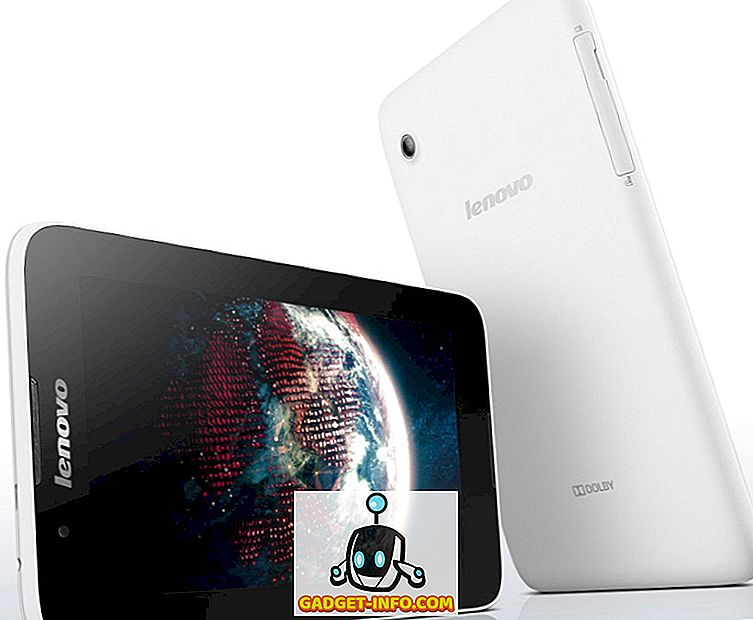 tech - Lenovo A7-30 7-inch tablet met spraakoproep gelanceerd in India voor Rs.  9979
