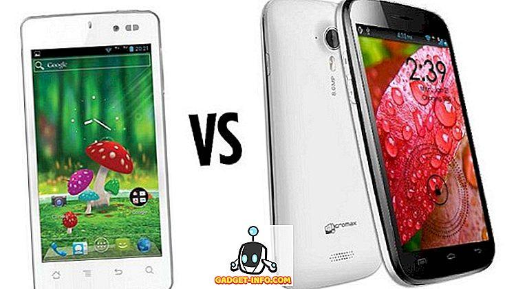 Karbonn Smart Titanium 1 gegen Micromax Canvas HD, Budget-Quad-Core-Smartphones
