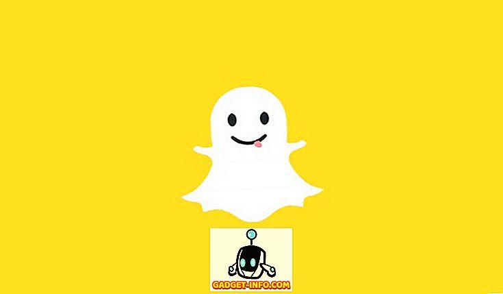 Sådan finder du mennesker på Snapchat