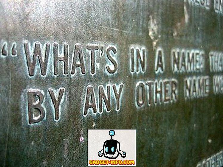Technik - Was ist in einem Namen?  Der Wahnsinn in der Smartphone-Nomenklatur