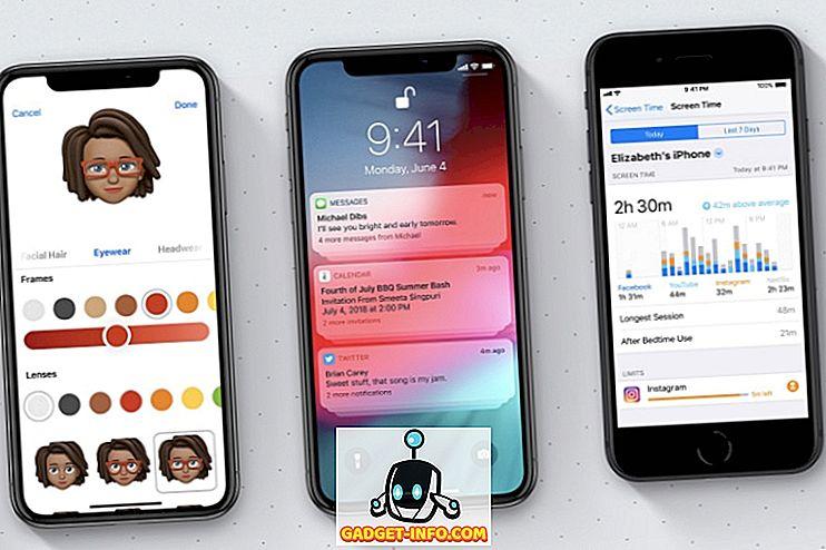 15 Bästa nya iOS 12 funktioner du borde veta
