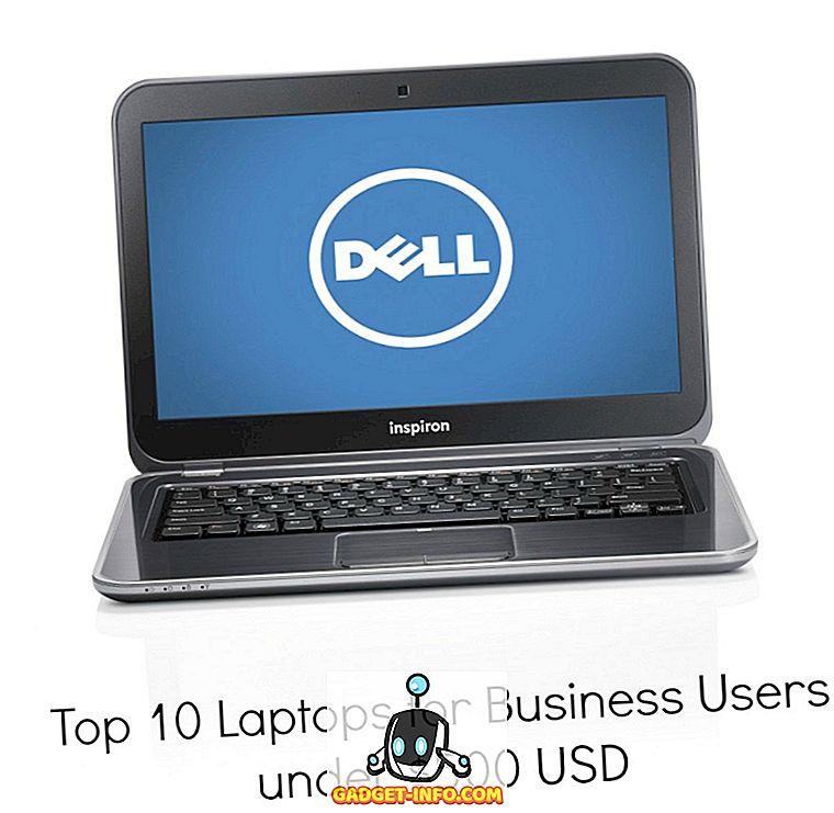 Top-10-Laptops für Geschäftskunden unter 500 USD
