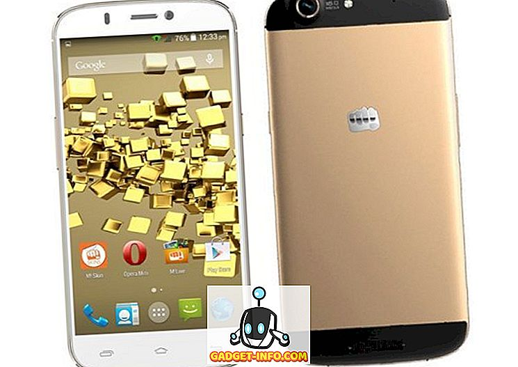 Micromax Canvas Gold on saadaval Indias Rs jaoks.  24.000