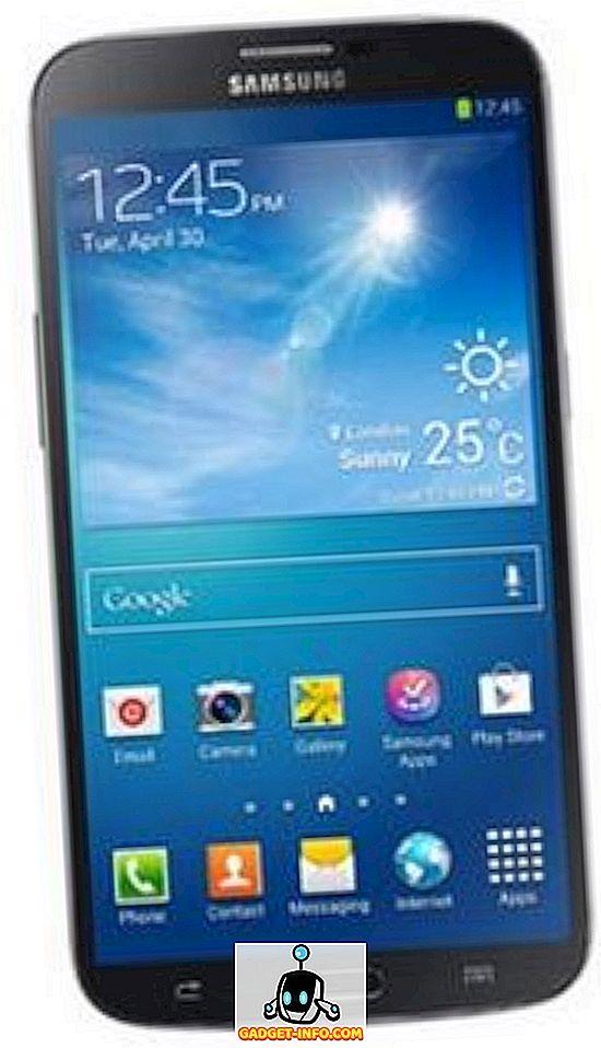 tech - Samsung Galaxy Mega 6.3 I9200 spetsifikatsioonid, hind ja käivitamise kuupäev