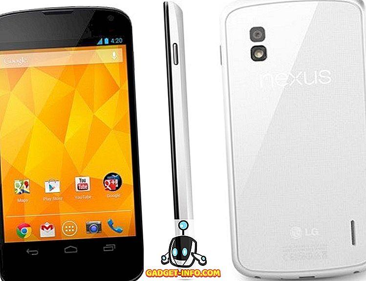 LG Nexus 4 Caracteristici alb, preț și lansare în India