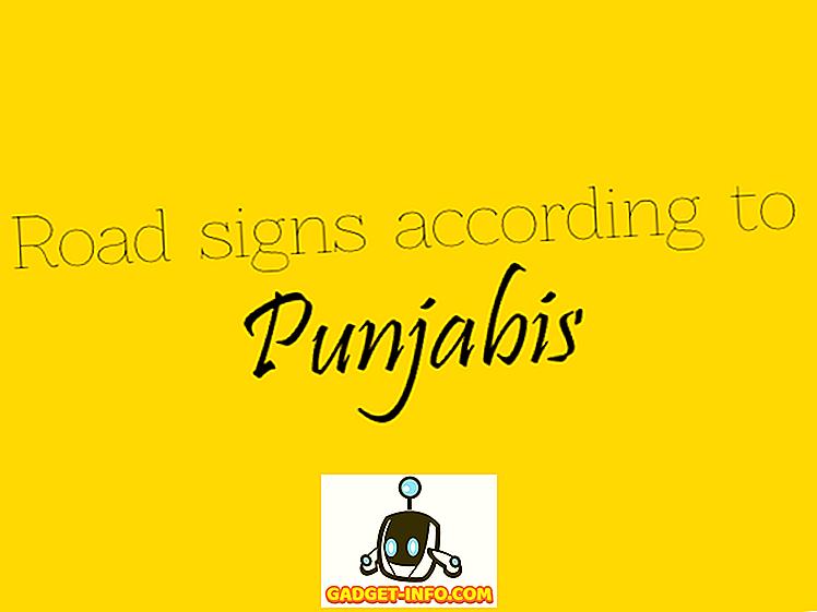 9 witzige minimalistische Poster, die erklären, was Punjabis an Verkehrsschilder denken