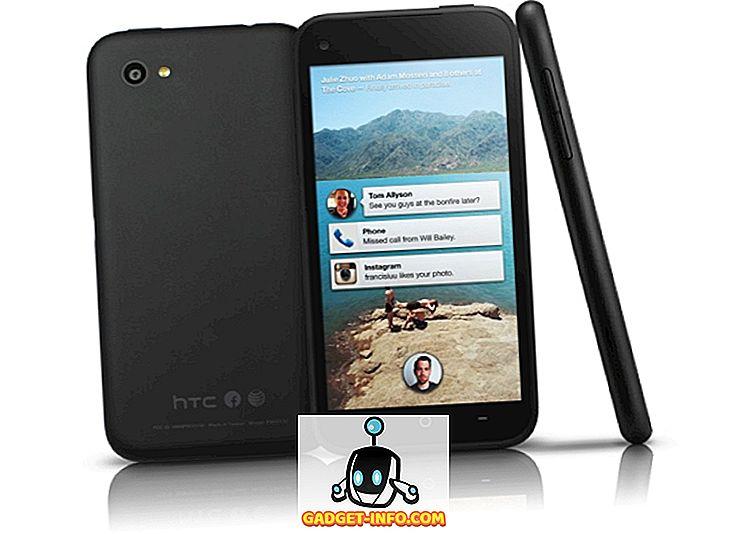 tech - HTC First, Facebook tālruņa specifikācija, cena un sākuma datums