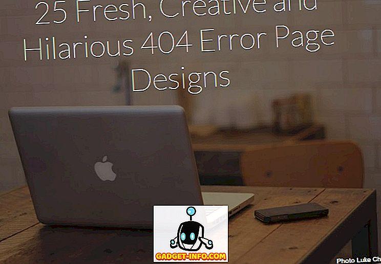 25 Friske, kreative og Hilarious 404 Fejl side designs